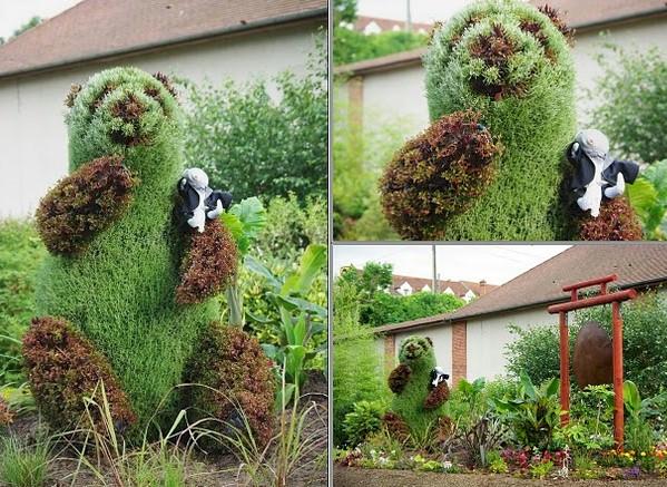 panda de jardin