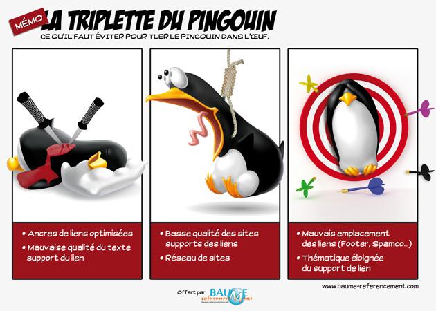 La triplette du pingouin.