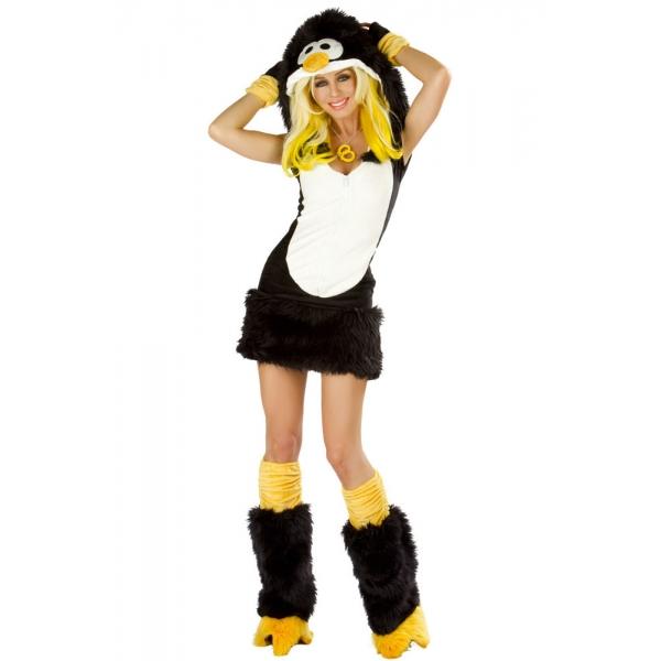 Un grand classique, la fille sexy, ça marche toujours. Gaffe, ça attire n'importe quoi, pas que Pingouin.